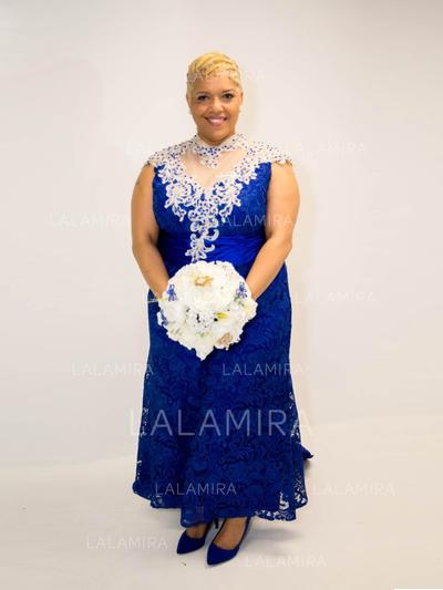 Forme Princesse col haut Taffeta Superbe Robes mère de la mariée (008212779)