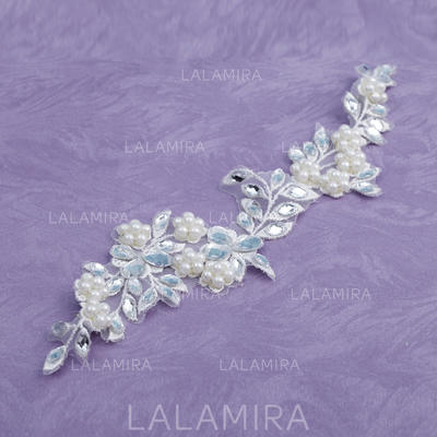 """Headbands Special Occasion Rhinestone/Imitation Pearls/Lace 9.84""""(Approx.25cm) 1.97""""(Approx.5cm) Headpieces (042153174)"""