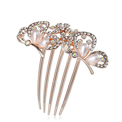 """Combs & Barrettes Special Occasion/Casual/Outdoor/Party Rhinestone/Alloy/Imitation Pearls 3.54""""(Approx.9cm) Special Headpieces (042155249)"""