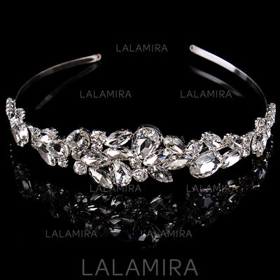 "Tiaras Wedding/Special Occasion Rhinestone/Alloy 1.97""(Approx.5cm) 6.3""(Approx.16cm) Headpieces (042157172)"