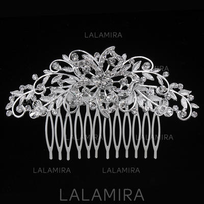 "Combs & Barrettes Wedding/Special Occasion/Party Alloy 3.94""(Approx.10cm) 2.36""(Approx.6cm) Headpieces (042156886)"