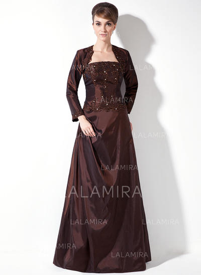 Glamorous Strapless A-Line/Princess Sleeveless Taffeta Bridesmaid Dresses (007002100)