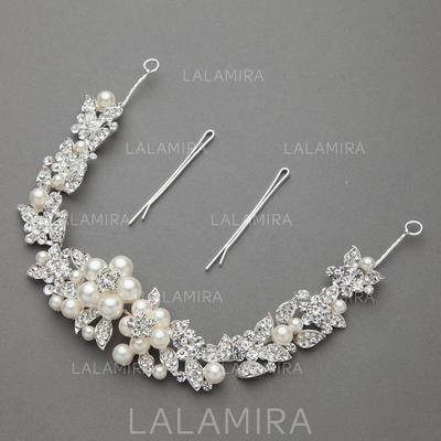 Maravilloso Aleación/Perlas de imitación Diademas (042060429)