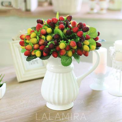 Lovely Keinotekoinen silkki Koristeet/Häät taulukko kukat (sarja 6) - (123104979)