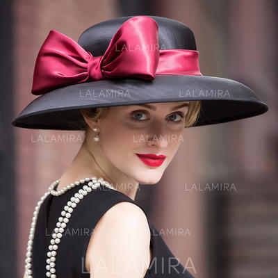 Señoras' Fantasía Pluma/Hilado de la red Bombín / cloché Sombrero (196114756)