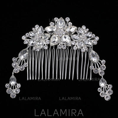 """Combs & Barrettes Wedding/Special Occasion Rhinestone/Alloy 6.89""""(Approx.17.5cm) 2.76""""(Approx.7cm) Headpieces (042158417)"""