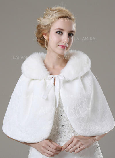 Shawl Fashion Faux Fur Other Colors Wraps (013149694)