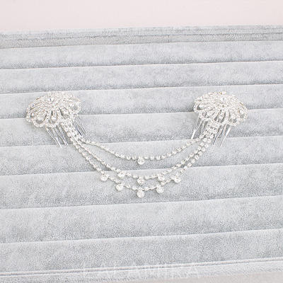 Combs & Barrettes Wedding Alloy Beautiful Ladies Headpieces (042158060)