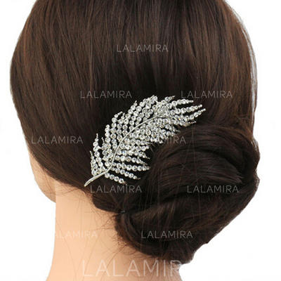 "Combs & Barrettes Wedding/Casual/Party/Art photography Rhinestone 3.74""(Approx.9.5cm) 2.36""(Approx.6cm) Headpieces (042159120)"