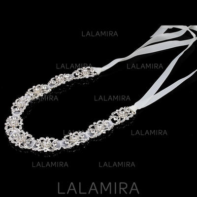 """Headbands Special Occasion Rhinestone/Alloy/Satin 11.8""""(Approx.30cm) 1.57""""(Approx.4cm) Headpieces (042159489)"""