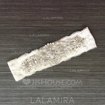 Garters Women/Bridal Wedding/Special Occasion Lace With Rhinestone Garter (104196460)