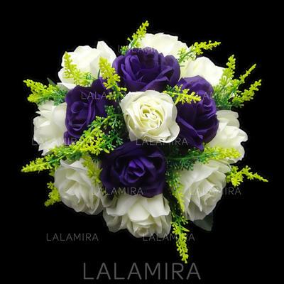 "Bridesmaid Bouquets Round Wedding Satin 8.66""(Approx.22cm) Wedding Flowers (123188272)"