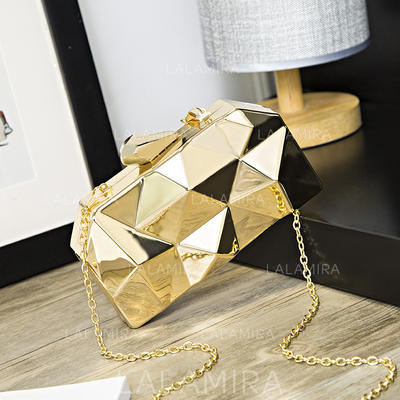 Clutches Wedding/Ceremony & Party Acrylic Push-lock frame closure Fashional Clutches & Evening Bags (012188038)