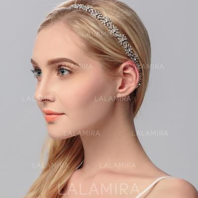 "Headbands Wedding/Special Occasion Rhinestone/Alloy 0.98""(Approx.2.5cm) 9.84""(Approx.25cm) Headpieces (042158048)"