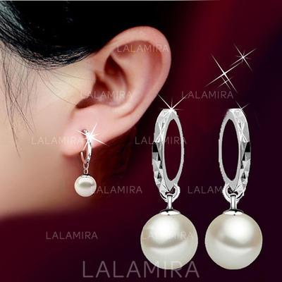 Earrings Copper Imitation Pearls Ladies' Elegant Wedding & Party Jewelry (011167431)