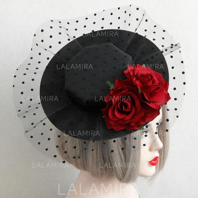 Bomull/Blonder Fascinators vintage stil Damene ' Hatter (196084966)