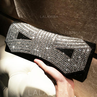 "Clutches/Satchel Ceremony & Party Crystal/ Rhinestone Charming 10.24""(Approx.26cm) Clutches & Evening Bags (012187269)"