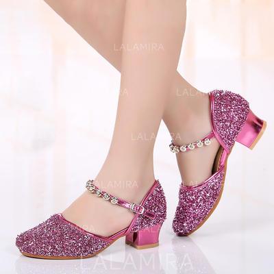 Kids' Ballroom Leatherette Dance Shoes (053183581)