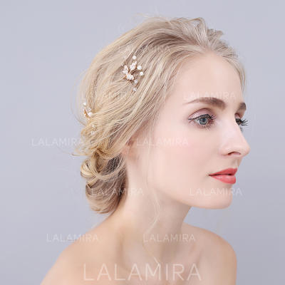"Hairpins Wedding/Special Occasion/Casual/Outdoor/Party Alloy 1.97""(Approx.5cm) 3.15""(Approx.8cm) Headpieces (042156991)"