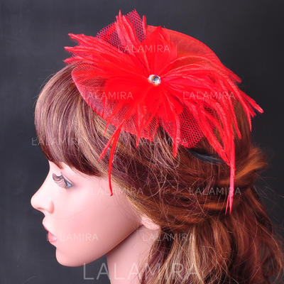 """Combs & Barrettes Wedding/Special Occasion/Party Net Yarn/Velvet 7.09""""(Approx.18cm) 7.09""""(Approx.18cm) Headpieces (042155449)"""