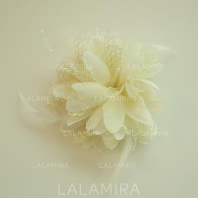 """Forehead Jewelry Wedding/Special Occasion/Party Silk Flower 2.36""""(Approx.6cm) 2.36""""(Approx.6cm) Headpieces (042159534)"""