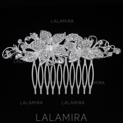 """Combs & Barrettes Wedding/Special Occasion/Party Alloy 3.94""""(Approx.10cm) 2.17""""(Approx.5.5cm) Headpieces (042156893)"""