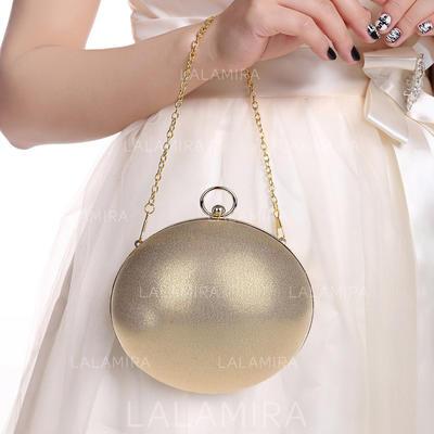 Clutches Wedding/Ceremony & Party Velvet Magnetic Closure Elegant Clutches & Evening Bags (012187547)