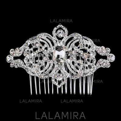 "Combs & Barrettes Wedding/Special Occasion/Party Rhinestone/Alloy 3.15""(Approx.8cm) 2.36""(Approx.6cm) Headpieces (042156955)"
