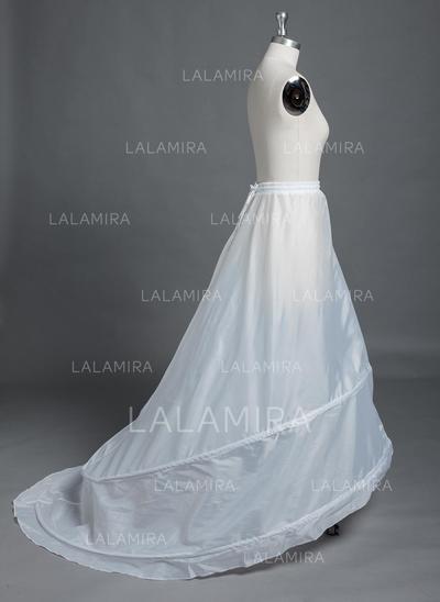 Petticoats Chapel Train Polyester Full Gown Slip 1 Tiers Petticoats (037190794)
