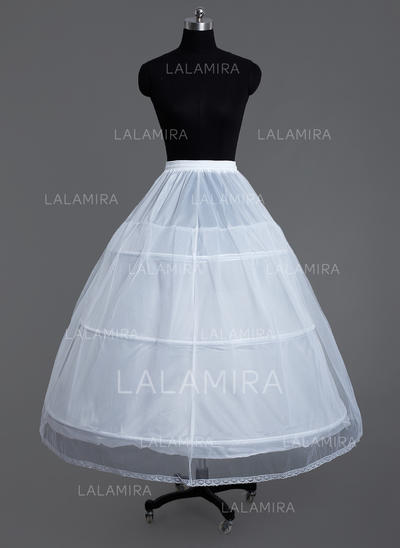 Petticoats Tulle Netting/Polyester Ball Gown Slip/Full Gown Slip 2 Tiers Wedding/Special Occasion Petticoats (037190782)