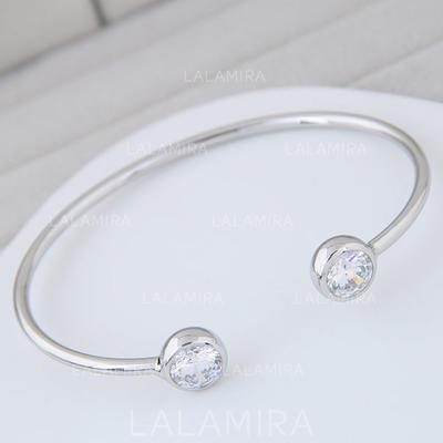 """Bracelets Alloy/Zircon Ladies' Exquisite 6.30""""(Approx.16cm) Wedding & Party Jewelry (011168078)"""