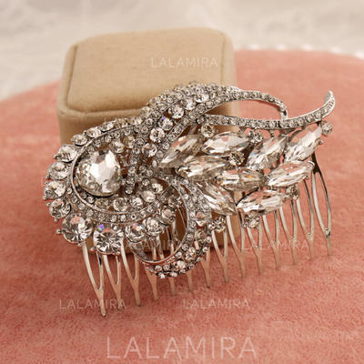 """Combs & Barrettes Alloy 2.95""""(Approx.7.5cm) 2.17""""(Approx.5.5cm) Eye-catching Headpieces (042155845)"""