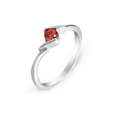 Rings Zircon/Platinum Plated Ladies' Nice Wedding & Party Jewelry (011164834)