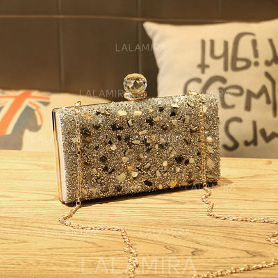 "Clutches Wedding PVC Charming 9.06""(Approx.23cm) Clutches & Evening Bags (012188082)"