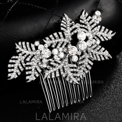 Combs & Barrettes Wedding Alloy Gorgeous (Sold in single piece) Headpieces (042159062)
