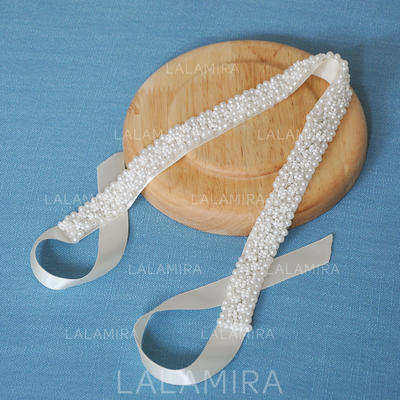 "Headbands Wedding/Special Occasion Satin 17.32""(Approx.44cm) 0.78""(Approx.2cm) Headpieces (042159225)"