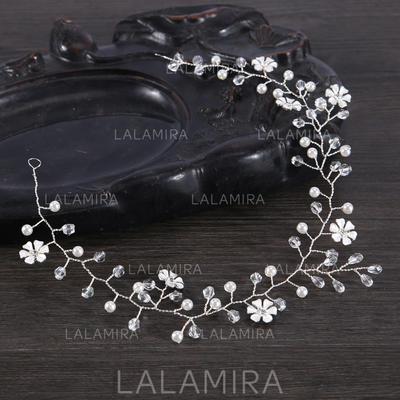 Señoras Especial Aleación/La perla de faux Diademas con Perla Veneciano (Se venden en una sola pieza) (042152677)