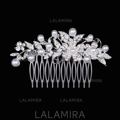 "Combs & Barrettes Wedding Rhinestone/Alloy 3.94""(Approx.10cm) 2.36""(Approx.6cm) Headpieces (042158429)"