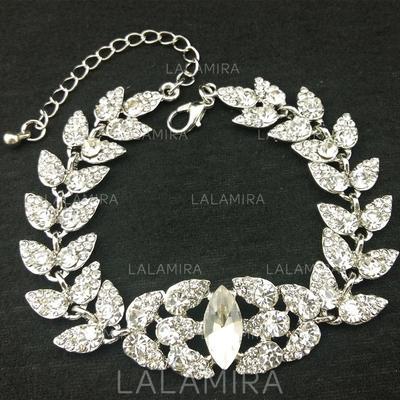 Pulseras Aleación/Diamantes de imitación Rhinestone Corchete de la langosta Señoras' Joyas de boda & fiesta (011119653)