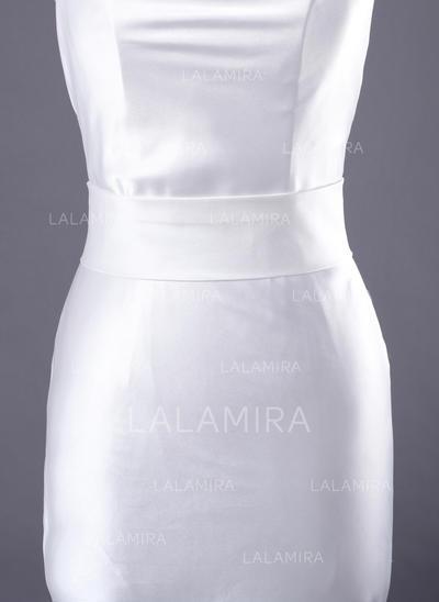 Women Satin Sash Simple Sashes & Belts (015190943)