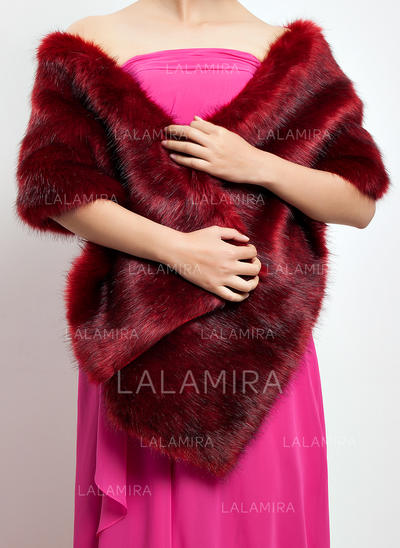 Shawl Special Occasion Faux Fur Other Colors Wraps (013149464)