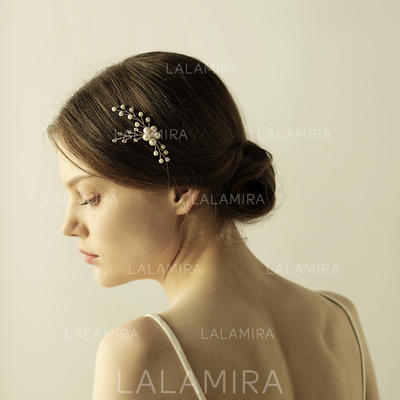 """Combs & Barrettes Wedding Alloy 3.15""""(Approx.8cm) 3.55""""(Approx.9cm) Headpieces (042158898)"""
