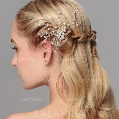 """Hairpins Wedding/Special Occasion Rhinestone/Alloy 4.33""""(Approx.11cm) 4.72""""(Approx.12cm) Headpieces (042158039)"""