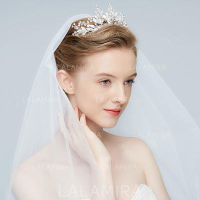 "Tiaras Wedding/Special Occasion/Art photography Alloy 9.06""(Approx.23cm) 1.97""(Approx.5cm) Headpieces (042159801)"