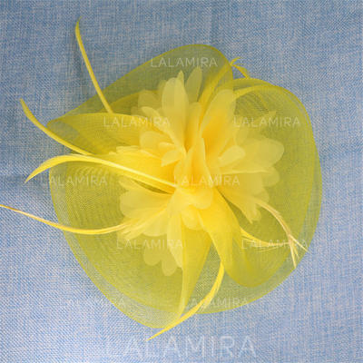 "Hairpins Special Occasion/Party Net Yarn 8.07""(Approx.20.5cm) 3.35""(Approx.8.5cm) Headpieces (042157150)"