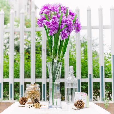 Enkle og Elegante Satin Dekorasjoner/Bryllup Bord Blomster (123066511)