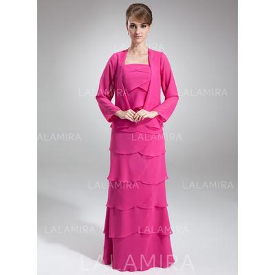Wrap Special Occasion Chiffon Long Sleeve Wraps (013212141)