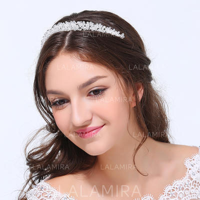 """Headbands Wedding/Party Alloy 5.91""""(Approx.15cm) 1.18""""(Approx.3cm) Headpieces (042158869)"""