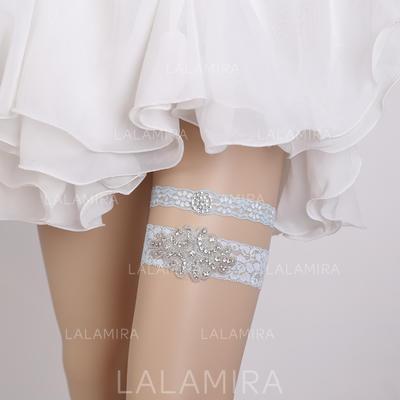 Garters Women/Bridal Wedding/Special Occasion Lace With Rhinestone Garter (104196613)