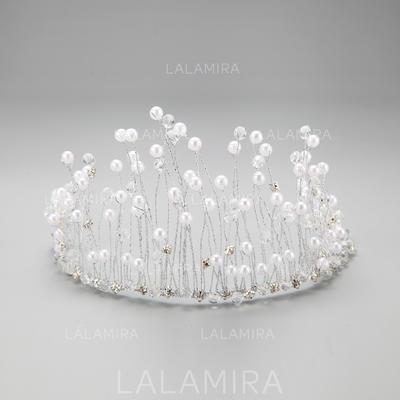 "Tiaras/Headbands Party Rhinestone/Alloy/Imitation Pearls 10.63""(Approx.27cm) 3.35""(Approx.8.5cm) Headpieces (042155291)"